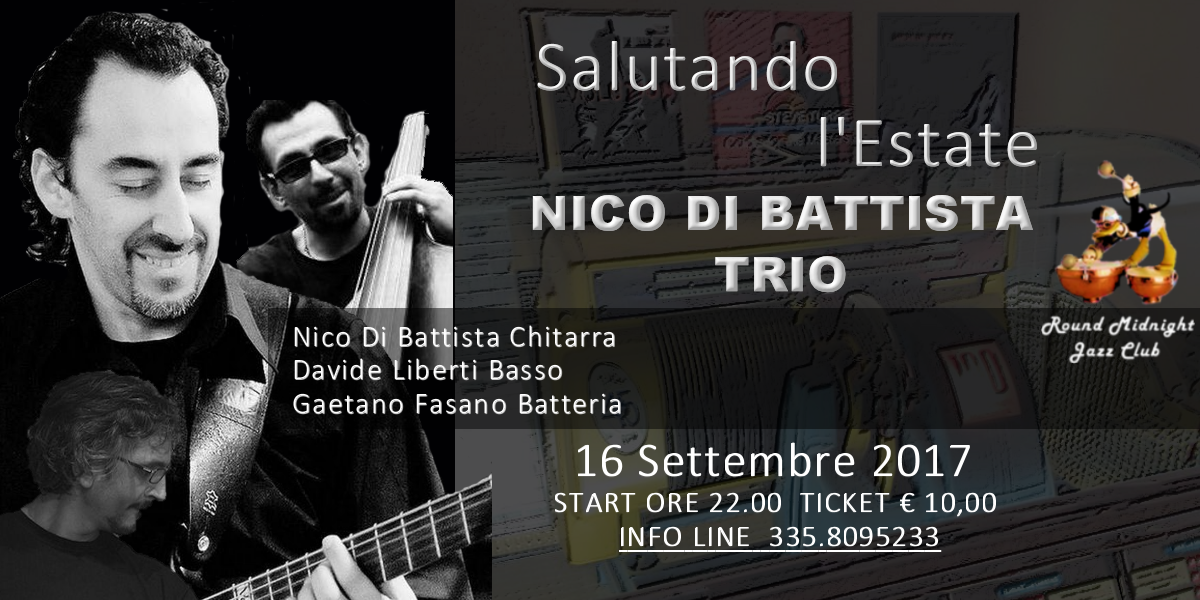 Nico Di Battista Trio