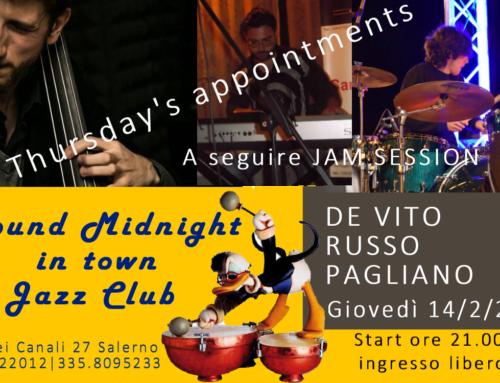 I Giovedì di Round Midnight Jazz Club in Town