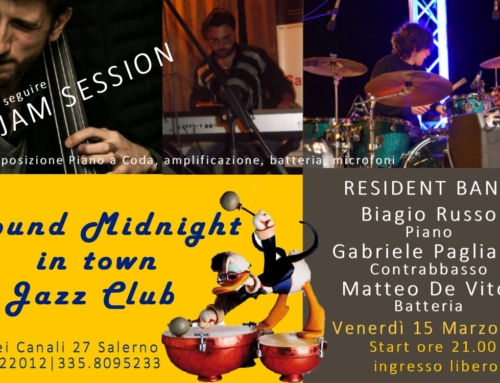 RESIDENT BAND & JAM SESSION | 15 MARZO 2019