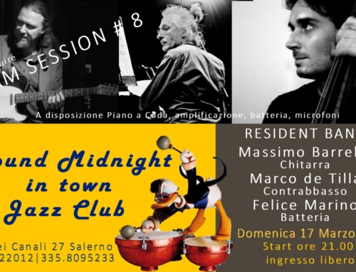 RESIDENT BAND & JAM SESSION #8 | 17 MARZO 2019