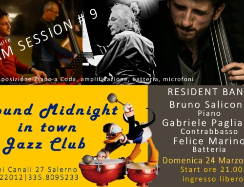 RESIDENT BAND & JAM SESSION #9 | 24 MARZO 2019