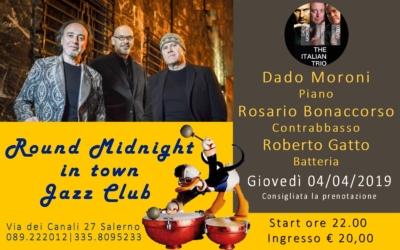 4 aprile the Italian trio