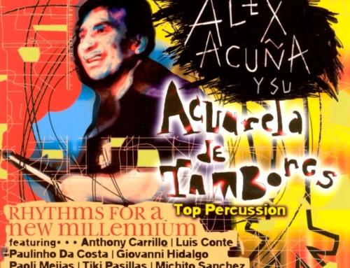 ALEX ACUNA | AQUARELA DE TAMBORES