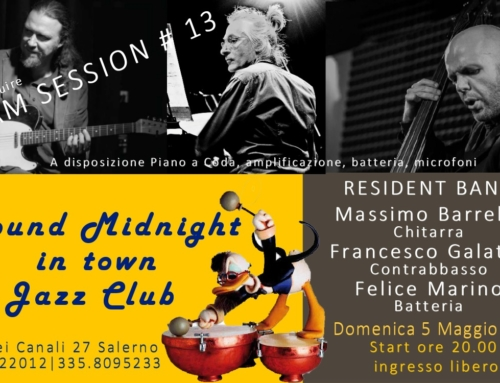 RESIDENT BAND & JAM SESSION #13 | 5 MAGGIO 2019