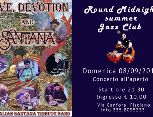 THE ITALIAN SANTANA TRIBUTE BAND | 08/09/2019